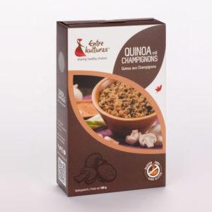 Quinoa Mit Champignons