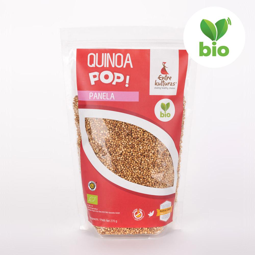Quinoa Biologique Soufflée Avec Sucre De Canne Complet