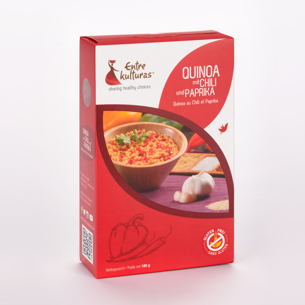 Quinoa Au Chili Et Paprika