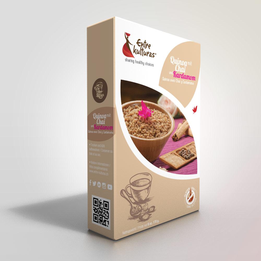 Quinoa With Chai And Cardamom