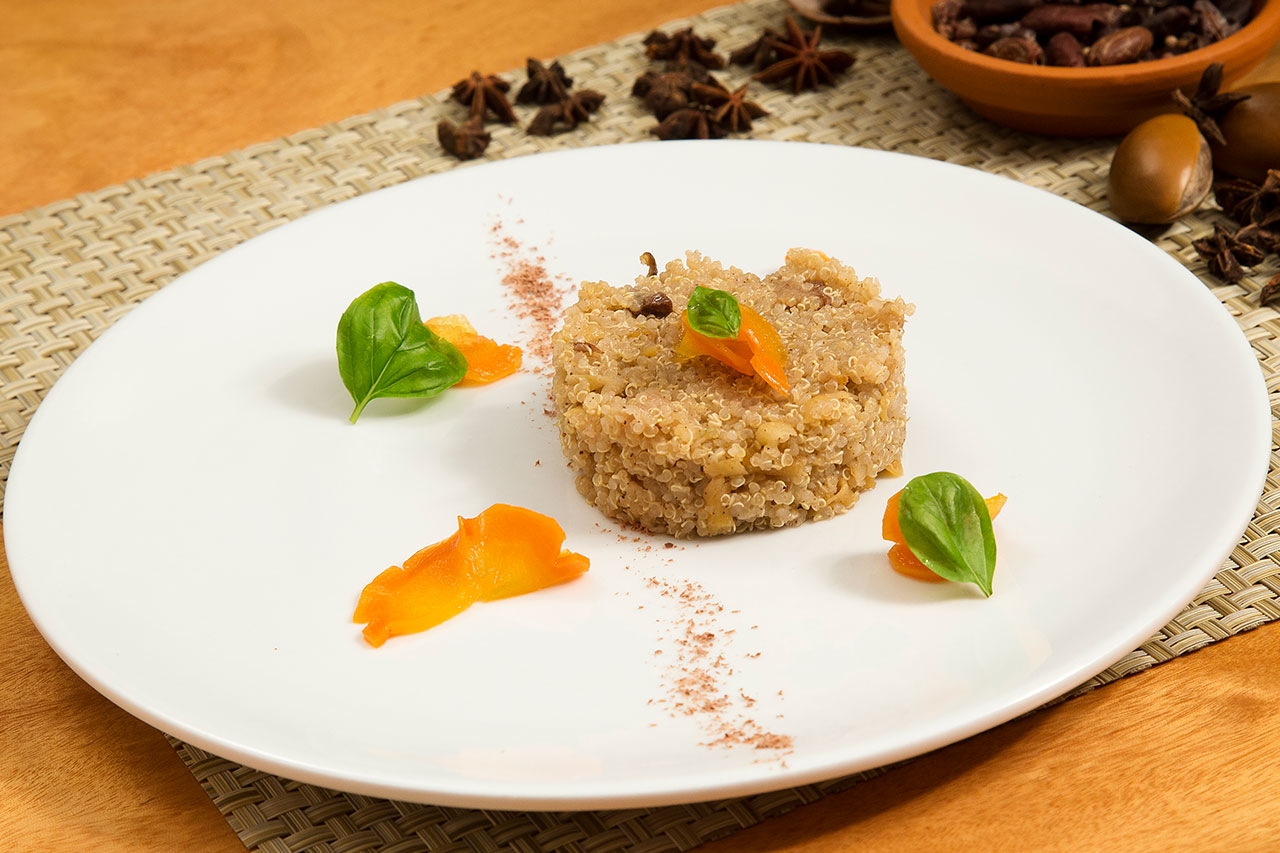 Quinoa With Carrots And Raisins
