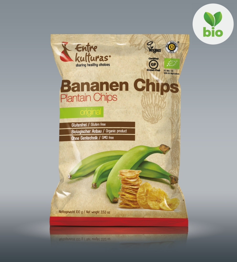 Organic Plantain Chips